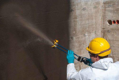 Bitumen Based Spray Waterproofing